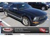 2007 Black Ford Mustang V6 Deluxe Coupe #85309643