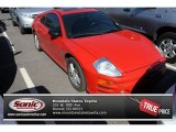 2003 Saronno Red Mitsubishi Eclipse GT Coupe #85309632