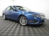 2010 Sport Blue Metallic Ford Fusion SEL #85310143