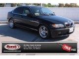 2002 Jet Black BMW 3 Series 330i Sedan #85356302