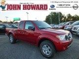 2013 Lava Red Nissan Frontier SV V6 King Cab 4x4 #85356618
