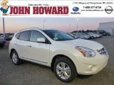 2013 Pearl White Nissan Rogue SV AWD #85356616
