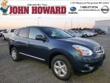 2013 Graphite Blue Nissan Rogue S AWD #85356611