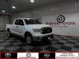 2010 Super White Toyota Tundra Double Cab #85356179