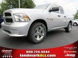 2014 Bright Silver Metallic Ram 1500 Express Quad Cab #85356285