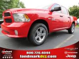 2014 Flame Red Ram 1500 Express Crew Cab #85356284