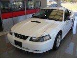 2002 Oxford White Ford Mustang V6 Coupe #85356601