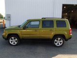 2012 Rescue Green Metallic Jeep Patriot Latitude 4x4 #85356799