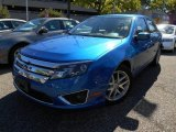 2011 Blue Flame Metallic Ford Fusion SEL #85356795