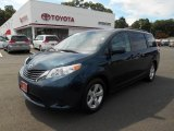 2011 South Pacific Blue Pearl Toyota Sienna LE #85356672