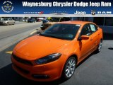 2013 Header Orange Dodge Dart SXT #85356380