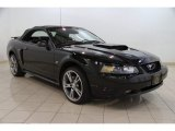 2002 Black Ford Mustang GT Convertible #85356669