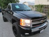 2011 Black Chevrolet Silverado 1500 LT Regular Cab 4x4 #85356139