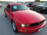 2007 Torch Red Ford Mustang V6 Deluxe Coupe #85356134