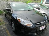 2013 Tuxedo Black Ford Focus S Sedan #85356133