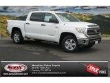 2014 Super White Toyota Tundra SR5 Crewmax 4x4 #85356051