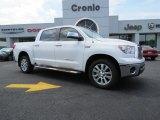 2012 Super White Toyota Tundra Platinum CrewMax #85356368