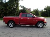 2010 Inferno Red Crystal Pearl Dodge Ram 1500 SLT Quad Cab 4x4 #85356225