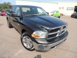 2010 Brilliant Black Crystal Pearl Dodge Ram 1500 SLT Quad Cab 4x4 #85356471