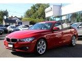 2013 Melbourne Red Metallic BMW 3 Series 335i Sedan #85356127