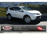 2013 Blizzard White Pearl Toyota RAV4 Limited AWD #85356037