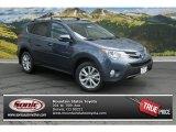 2013 Shoreline Blue Pearl Toyota RAV4 Limited AWD #85356021
