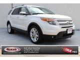 2011 White Platinum Tri-Coat Ford Explorer Limited #85356464