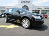 2014 Pitch Black Dodge Journey SE #85356350