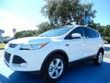 2014 White Platinum Ford Escape SE 2.0L EcoBoost #85356207