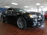 2013 Phantom Black Tri-Coat Pearl Chrysler 300 C John Varvatos Limited Edition #85356345