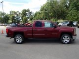 2014 Deep Ruby Metallic Chevrolet Silverado 1500 LT Double Cab 4x4 #85356318