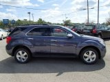 2014 Atlantis Blue Metallic Chevrolet Equinox LT AWD #85356315