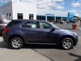 2014 Atlantis Blue Metallic Chevrolet Equinox LS AWD #85356313