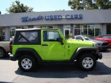 2012 Gecko Green Jeep Wrangler Sport 4x4 #85410138