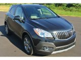 2013 Carbon Black Metallic Buick Encore Leather #85410236