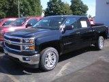 2014 Black Chevrolet Silverado 1500 LT Crew Cab 4x4 #85410441