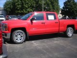 2014 Victory Red Chevrolet Silverado 1500 LT Crew Cab 4x4 #85410440