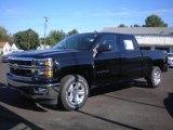 2014 Black Chevrolet Silverado 1500 LT Crew Cab 4x4 #85410438