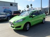 2014 Green Envy Ford Fiesta SE Sedan #85409727
