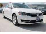 2014 Candy White Volkswagen Passat 2.5L SE #85410311