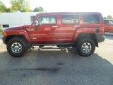 2010 Red Rock Metallic Hummer H3  #85410382