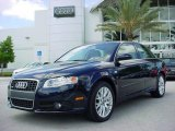 2008 Deep Sea Blue Pearl Effect Audi A4 2.0T Special Edition Sedan #8525684