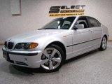 2005 Titanium Silver Metallic BMW 3 Series 330i Sedan #8532224
