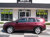 2012 Basque Red Pearl II Honda CR-V EX-L 4WD #85410180