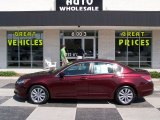 2011 Basque Red Pearl Honda Accord EX Sedan #85410178