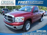 2006 Inferno Red Crystal Pearl Dodge Ram 1500 SLT Regular Cab #85410261