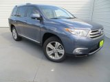 2013 Shoreline Blue Pearl Toyota Highlander Limited #85410046