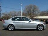 2008 Titanium Silver Metallic BMW 3 Series 335i Sedan #8528627