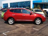 2012 Cayenne Red Nissan Rogue SV #85466046