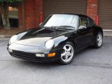 1995 Porsche 911 Carrera Coupe Front 3/4 View